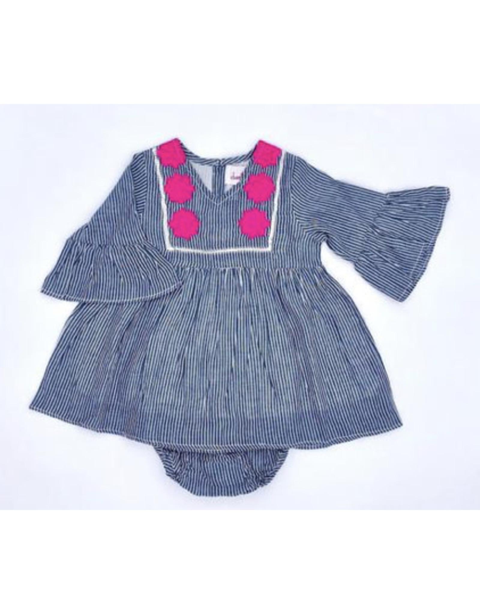 Cheeni Cheeni- Rose Baby Dress