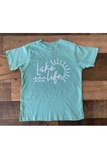 Lake Life TShirt: Teal