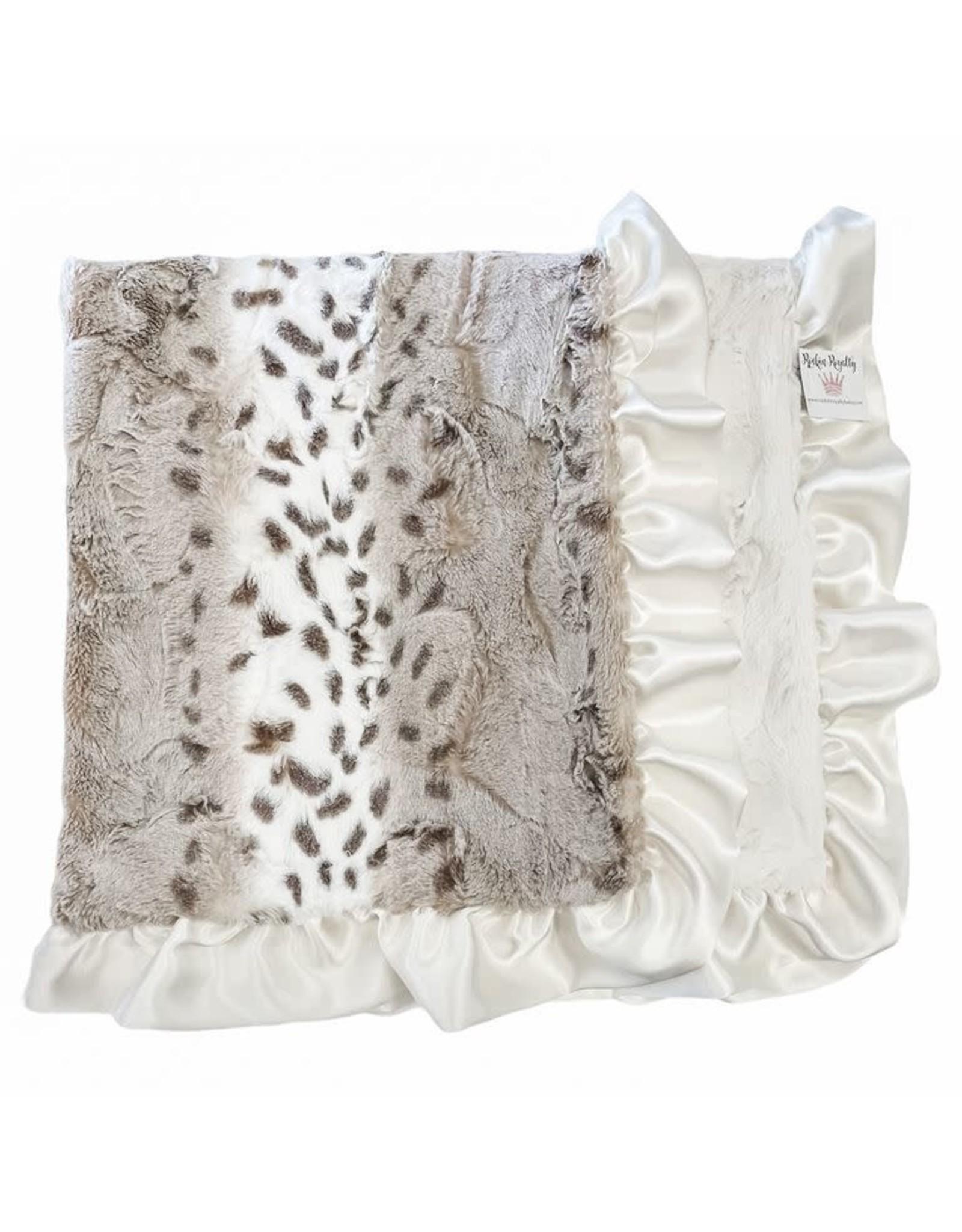 Rockin' Royalty Rockin Royalty- Snowcat Ivory Blanket
