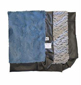 Rockin' Royalty Rockin Royalty- Asher Ruffle Blanket