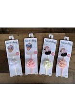 Baby Bling Baby Bling- Mini Silk Ruffle Skinny Headband