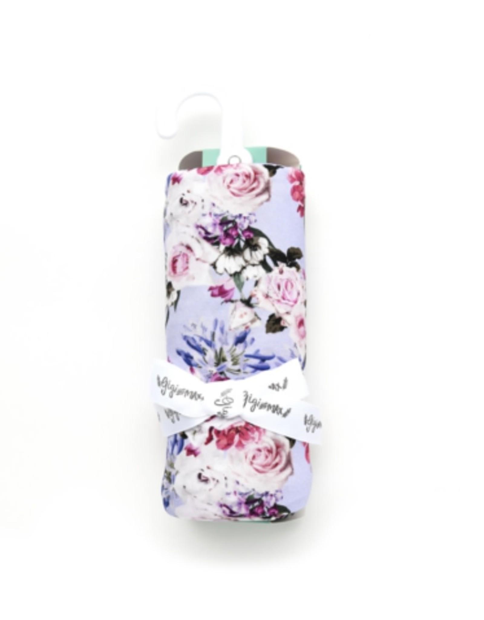 Gigi & Max Gigi & Max - Emerson Floral Swaddle Blanket