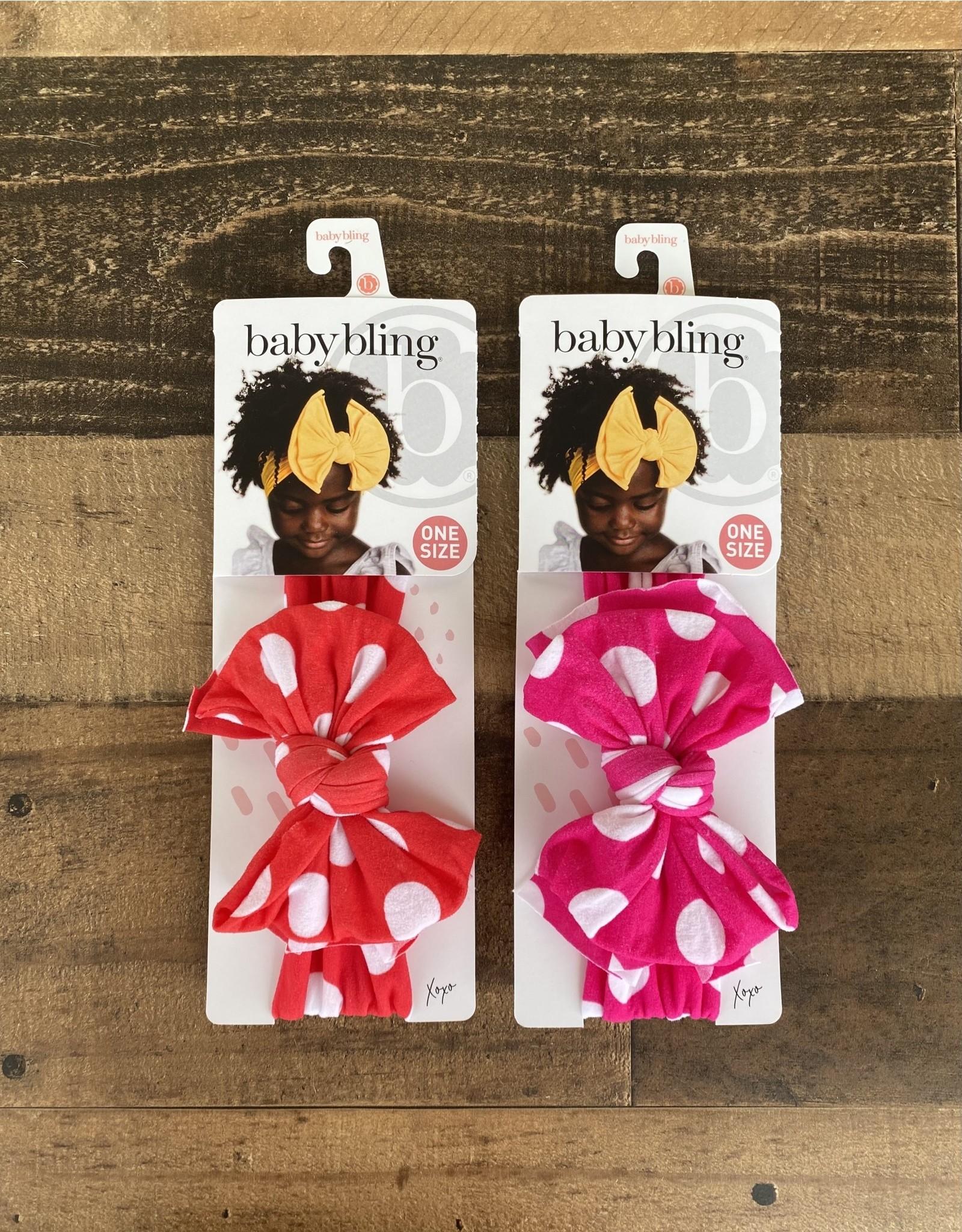 Baby Bling Baby Bling - Printed FAB Polka Dot