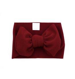 Stevie Js Stevie Js- Deep Red Chandler Headband