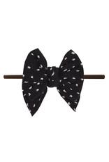 Baby Bling Baby Bling - Shabby DEB Skinny Brown : Black Dot
