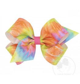 Wee Ones - Medium Tie Dye Bow