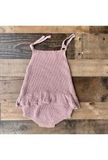 loved by Jade Presley loved by jade presley- Jade Crochet Skirted Bubble: Mauve