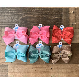 Wee Ones - King Tiny Dot Overlay Bow: