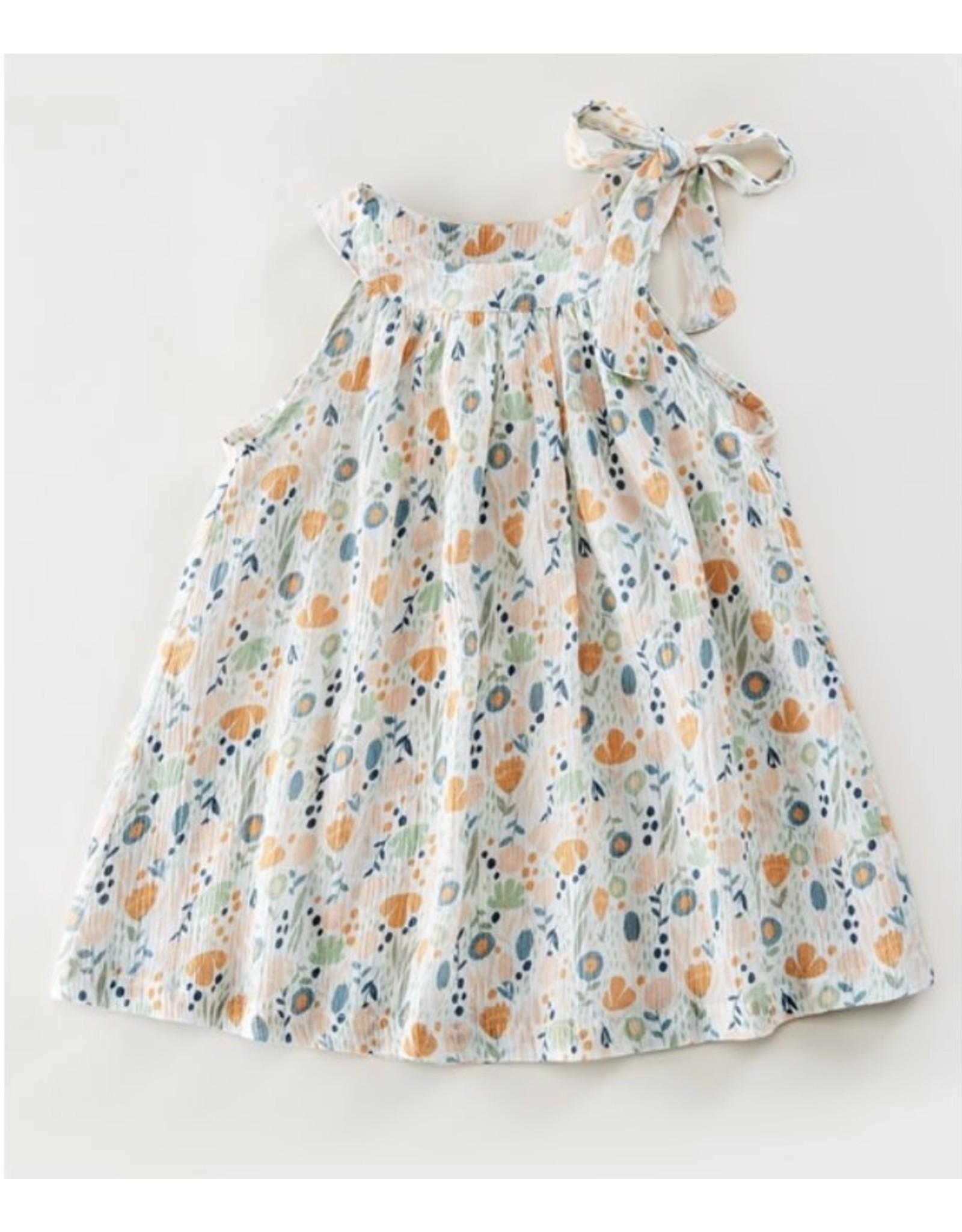 Cartwheels- Isabella Dress: Multicolor Floral