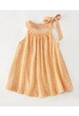 Cartwheels- Isabella Dress: Orange Dot