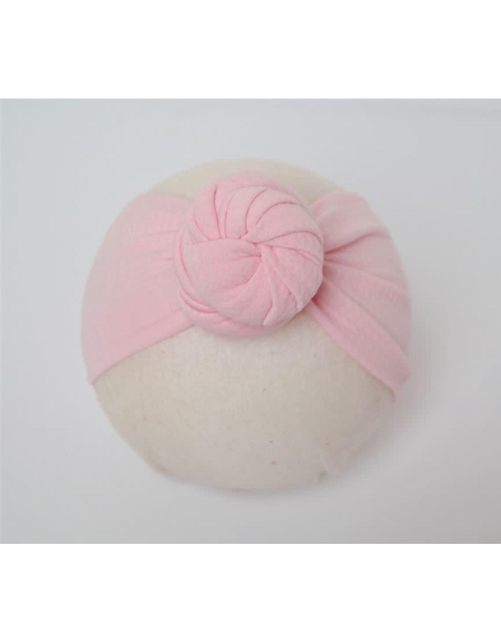Bella Reese- Ballet Pink Top Knot Headband