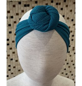 Bella Reese- Teal Top Knot Headband