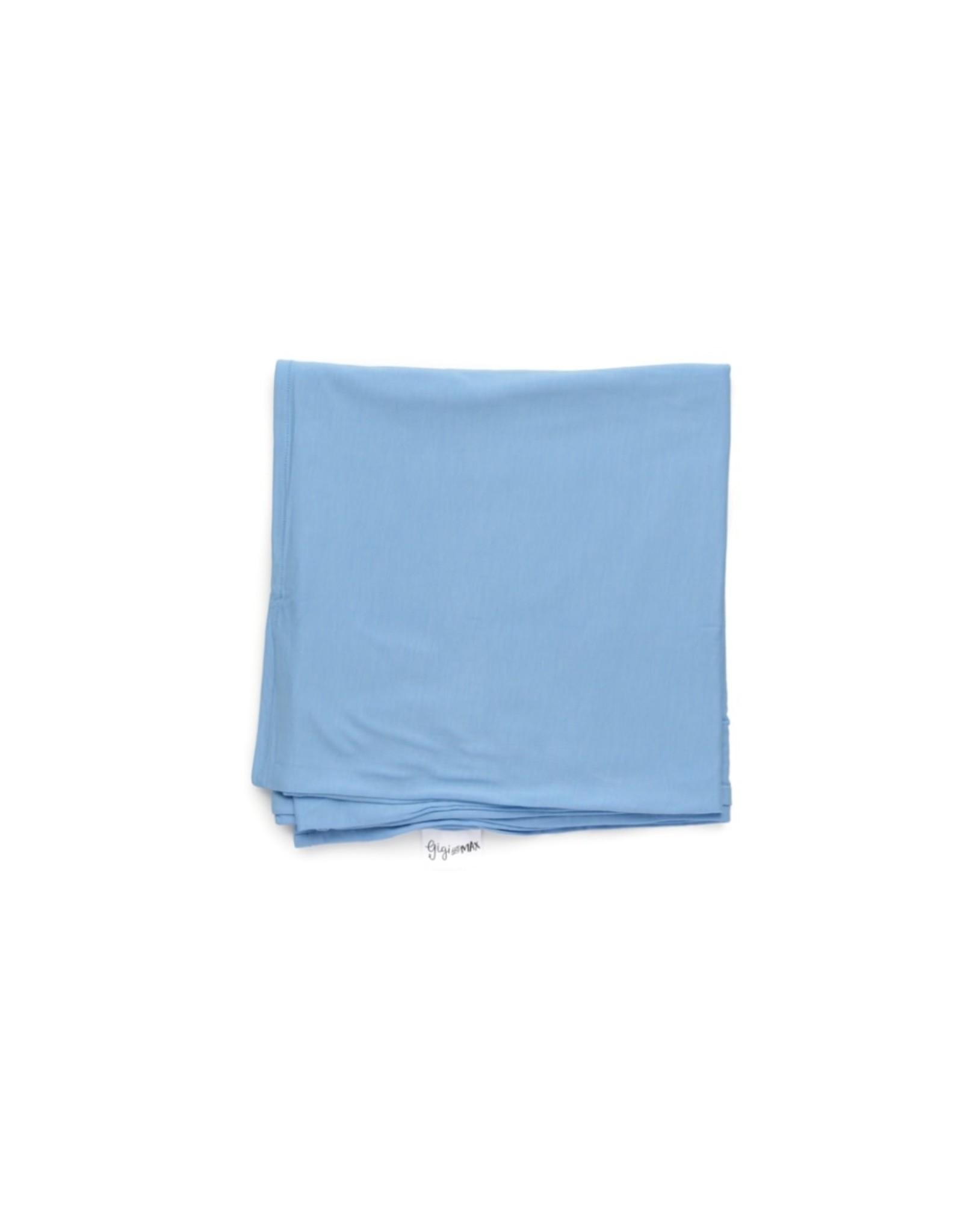 Gigi & Max Gigi & Max - Baby Blue Swaddle Blanket