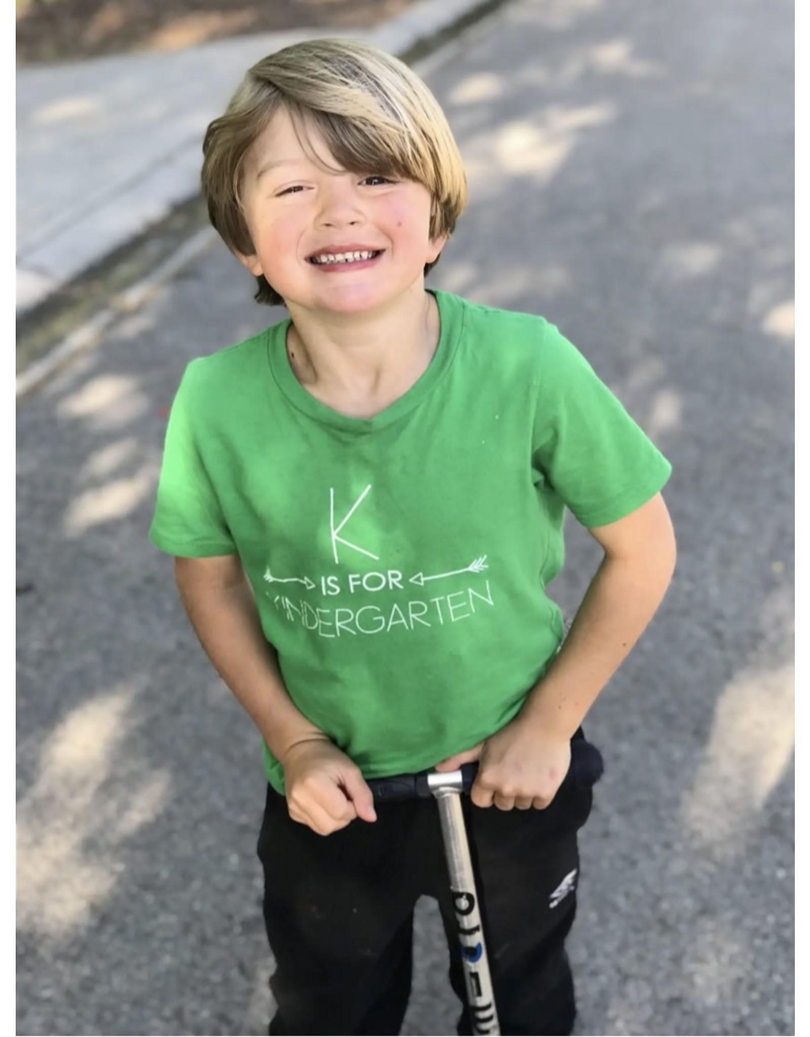 Little Hoot- K is for Kindergarten: Kelly Green
