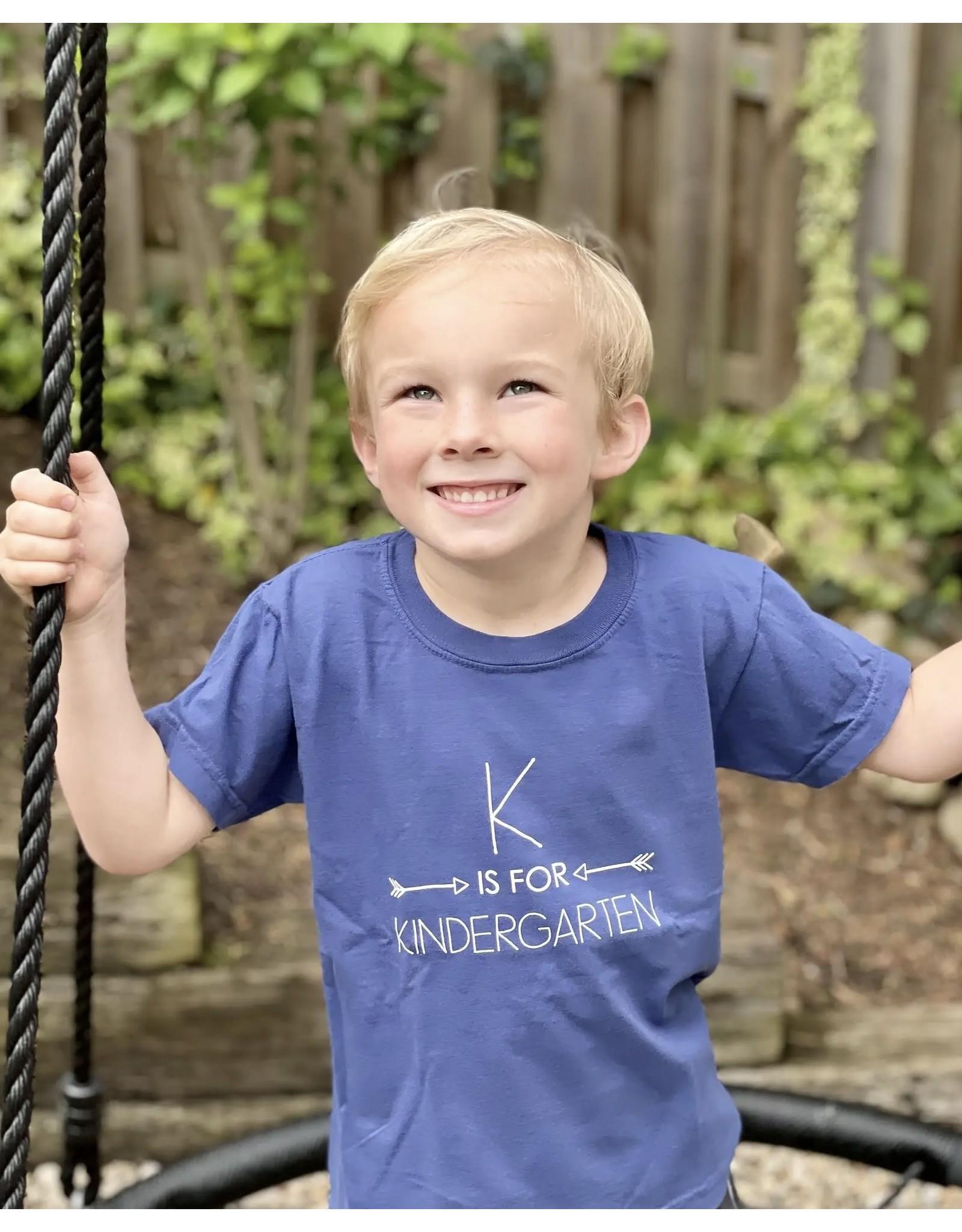 Little Hoot- K is for Kindergarten: Navy