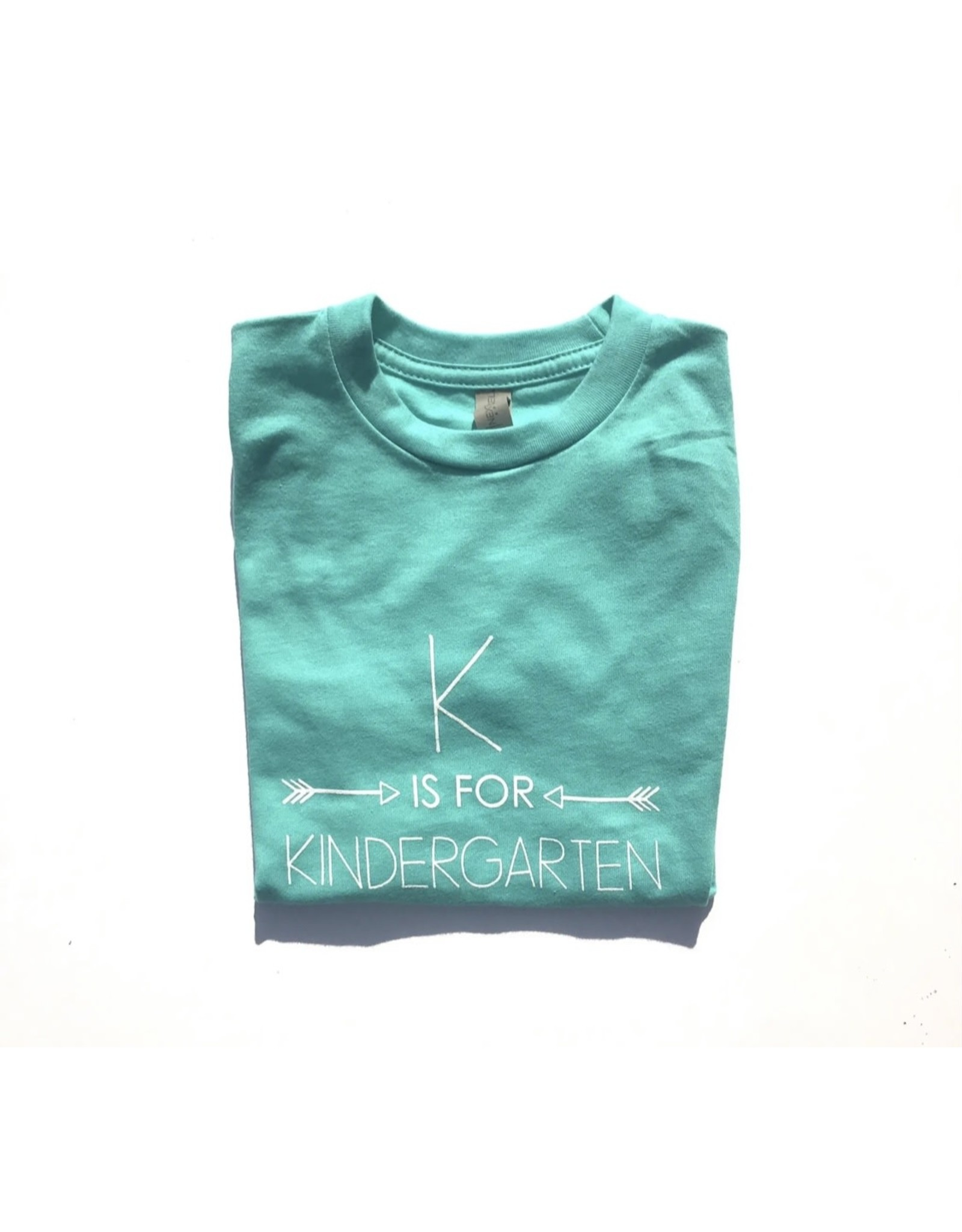 Little Hoot- K is for Kindergarten: Tahiti Blue