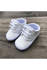 Baby Deer- White Leather Saddle Oxford White
