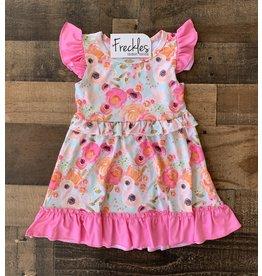 Sherbert Poppy Dress