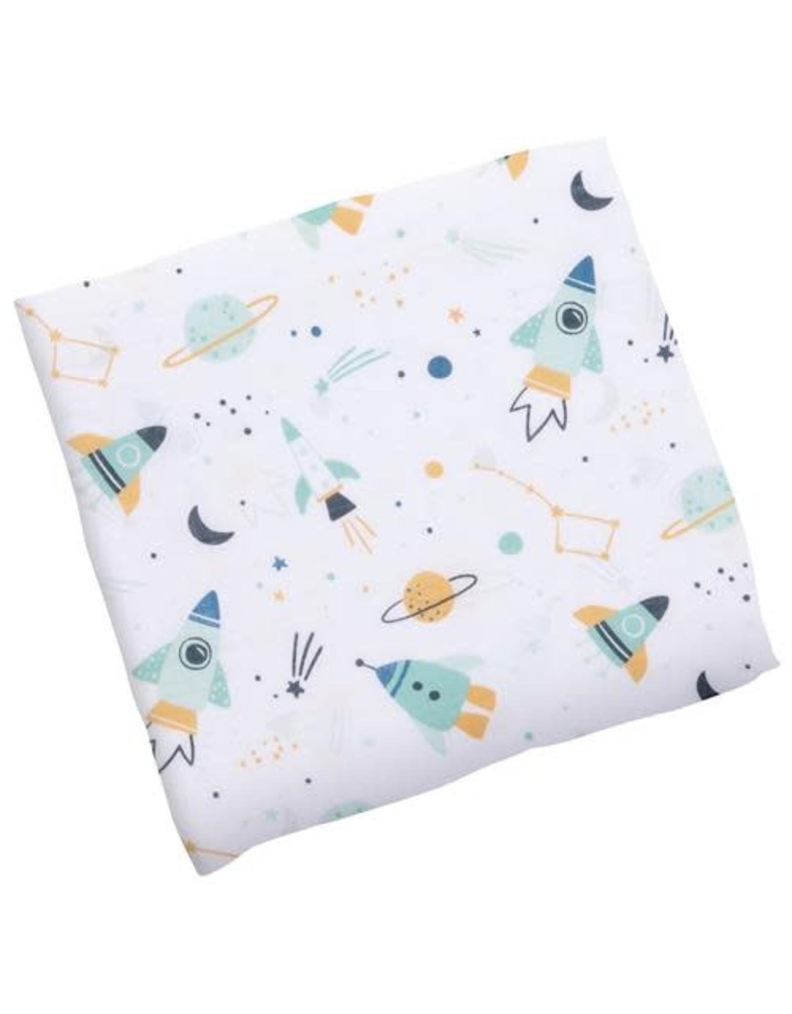 stephen joseph Stephen Joseph- Space Cotton Muslin Blanket