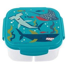 stephen joseph Stephen Joseph- Snack Box w/Ice Pack: Shark