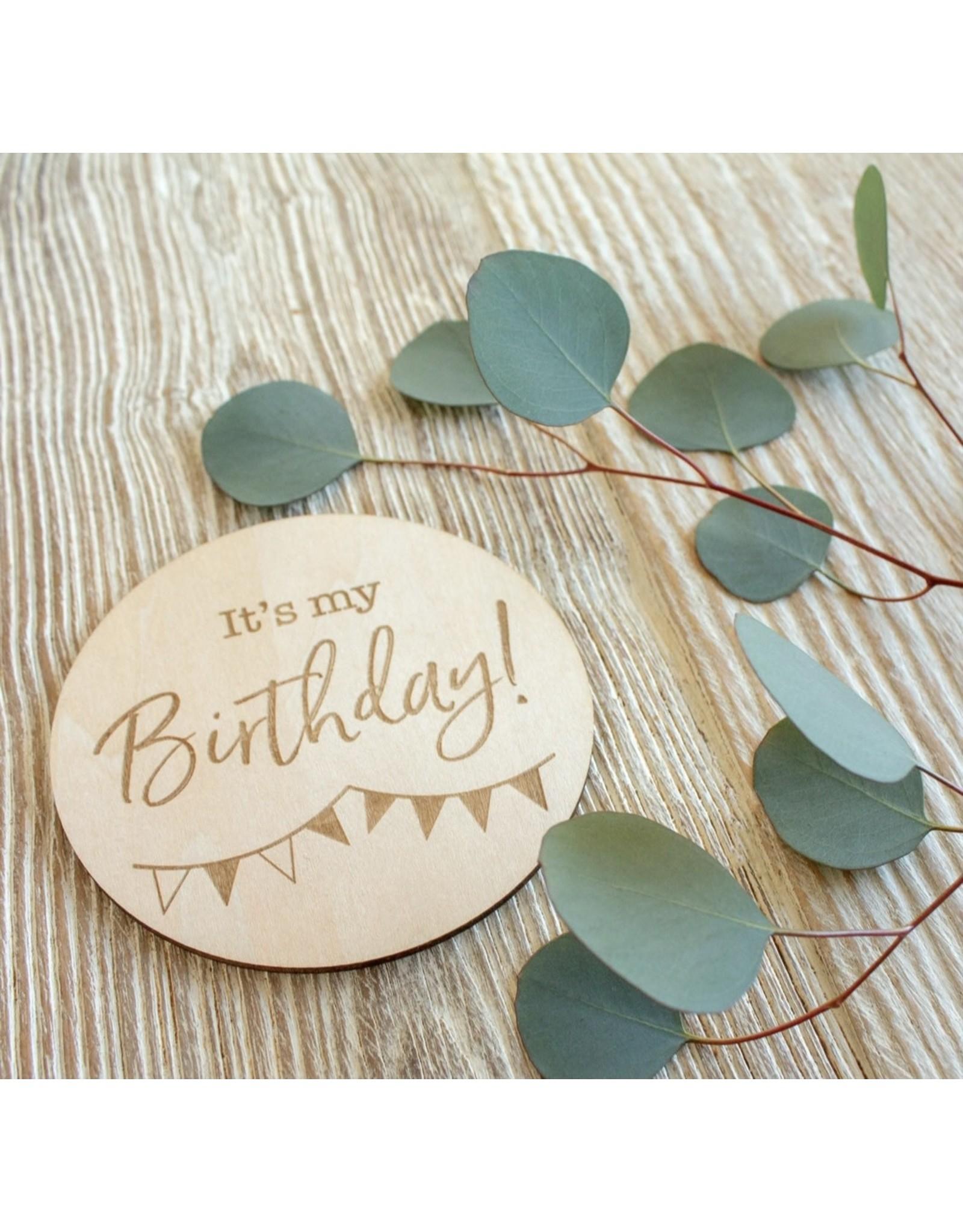 Bebe Au Lait Bebe Au Lait- It's My Birthday Milestone Disc