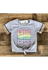Love Tie Front Shirt