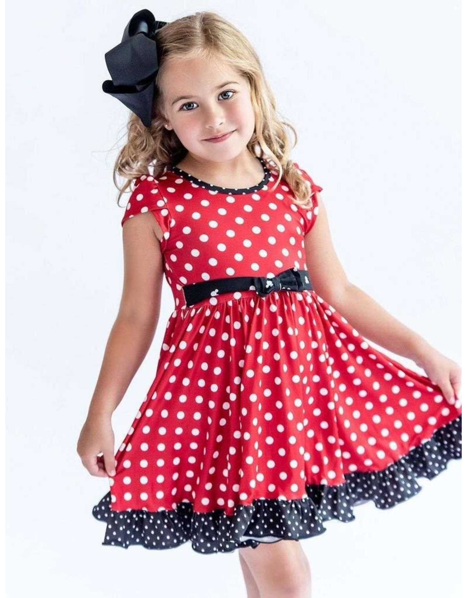 Charlies Project Charlie's Project- Mini Polka Dot Hugs Collection Dress