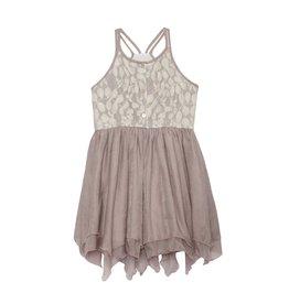 Isobella & Chloe Isobella & Chloe- Lace Chiffon Dress