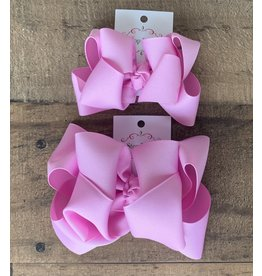 OS- Pixie Stacked Grosgrain Bow