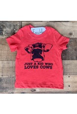 Just a Kid Who Loves Cows: Red