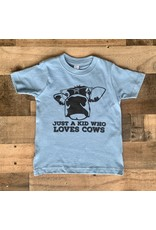 Just a Kid Who Loves Cows: Blue