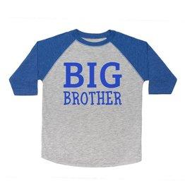 Sweet Wink- Big Brother L/S Shirt- Heather/Royal