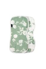 Bebe Au Lait Bebe Au Lait- Vintage Floral  & Modern Floral Muslin Burp Cloth Set
