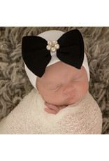 ILYBEAN Ily Bean- Bea Black Bow Hat