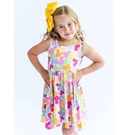 Charlies Project Charlie's Project- Mini Pastel Bubbles Twirl Hugs Dress