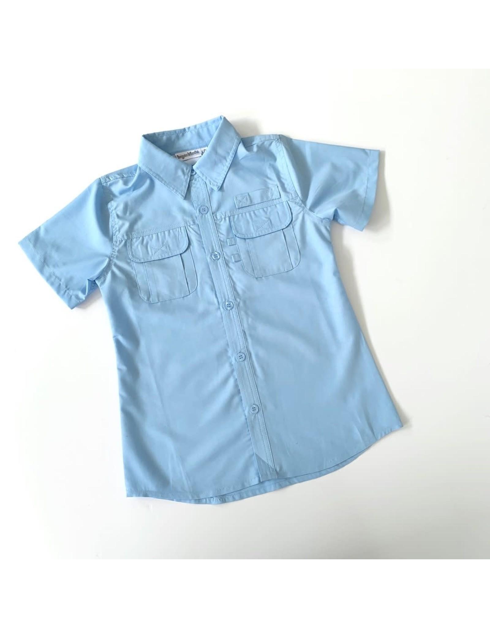 Blue Fishing Shirt
