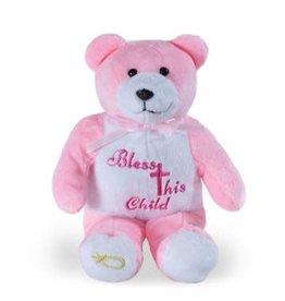 Christian Greetings Christian Greetings- Bless This Child Girl HolyBear