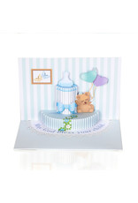Christian Greetings Christian Greetings- It's a Boy 3D Stand-up Card