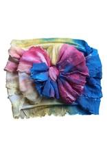 In Awe- Watercolor Tie Dye Headband