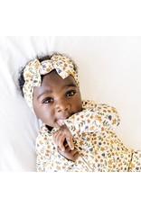 Brave Little Ones Brave Little Ones- Cream Floral Zip Romper