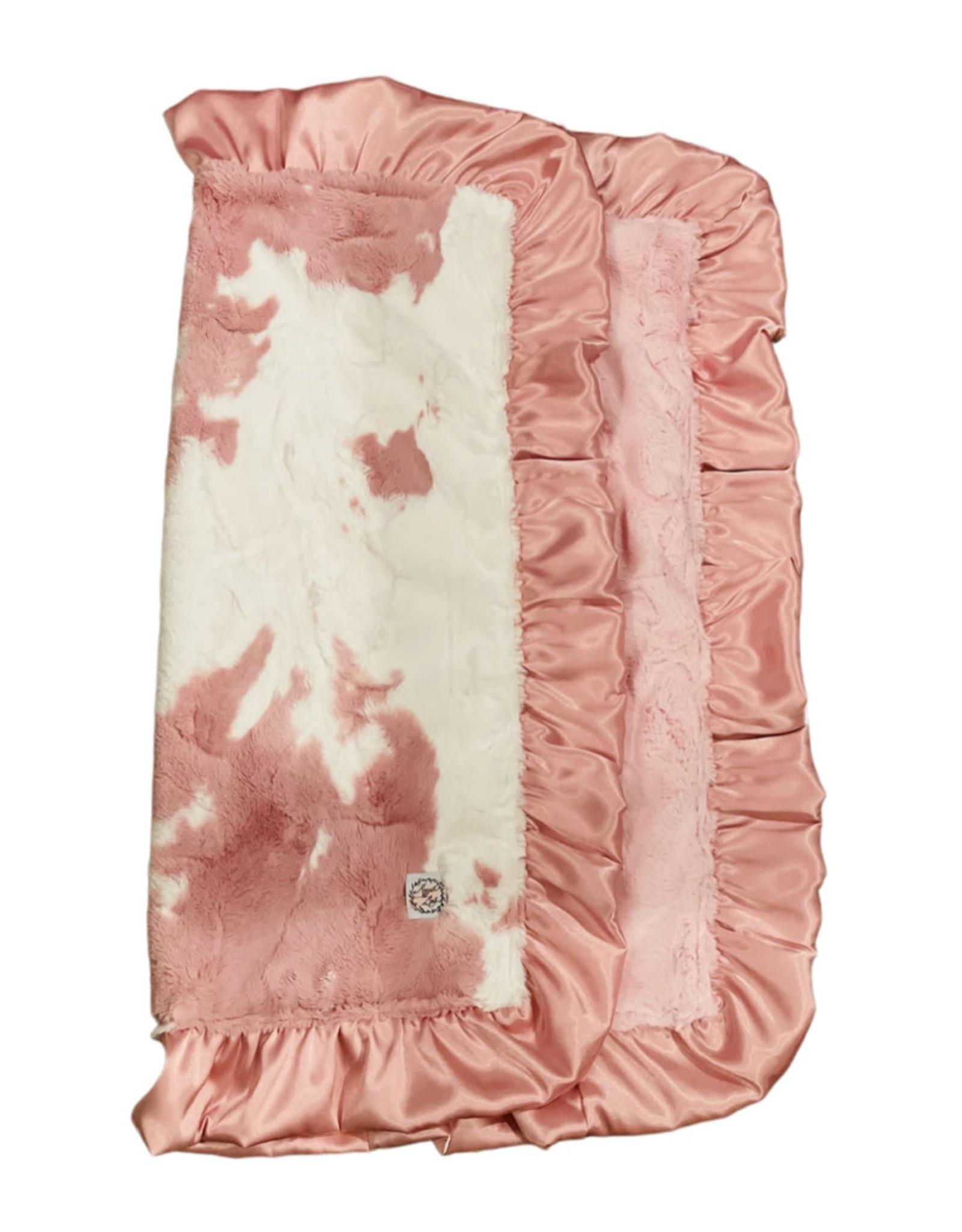 Razzle Baby Razzle Baby- Double Plush Clararose Calf Blanket