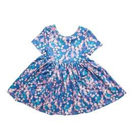 Mila & Rose Mila & Rose- Shimmer & Shine S/S Pocket Twirl Dress