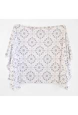 Village Baby Village Baby- Extra Soft Stretchy Knit Swaddle Blanket: Modern Mosaic
