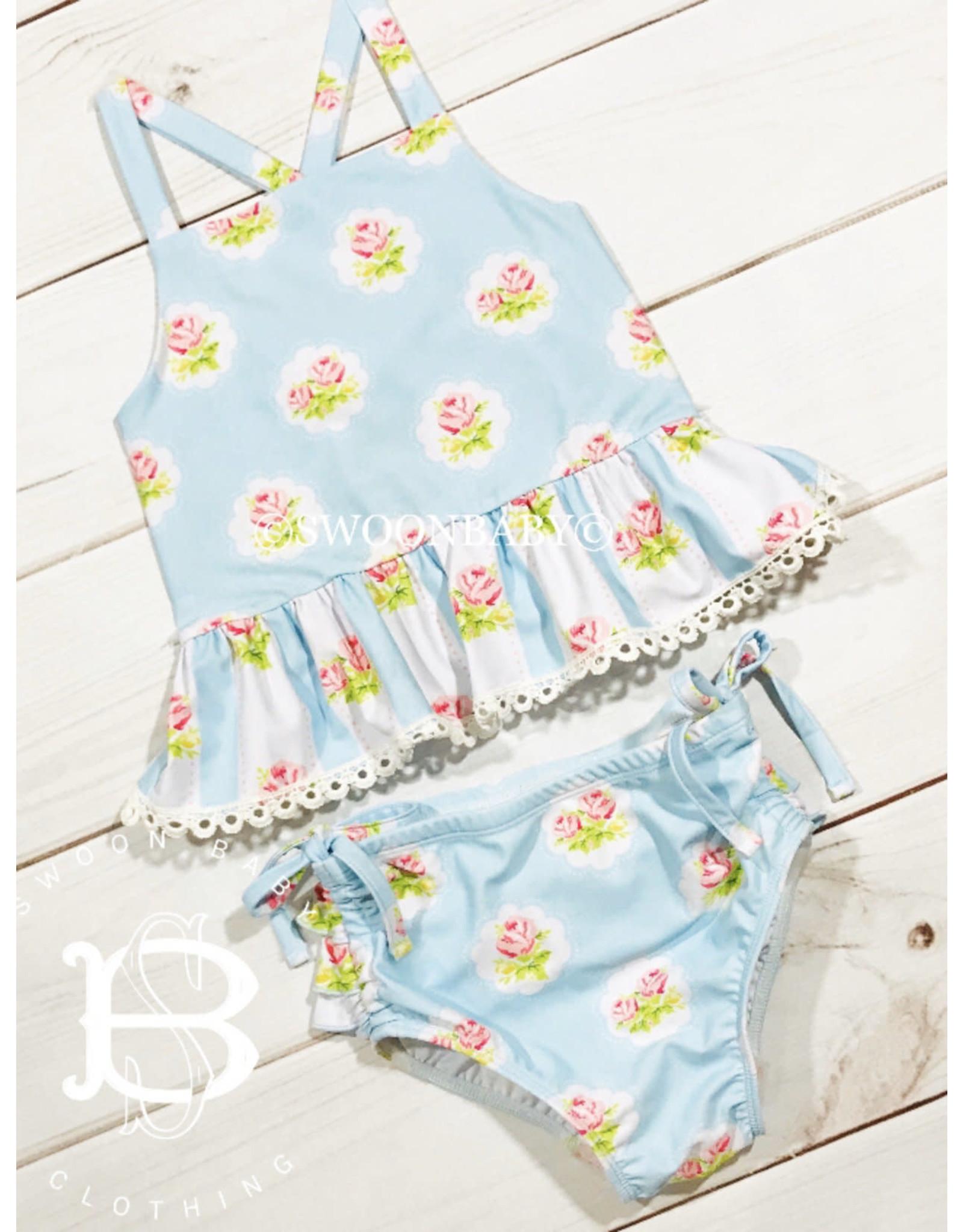 Swoon Baby Swoon Baby- Prim Rose 2PC Swim- Size 5