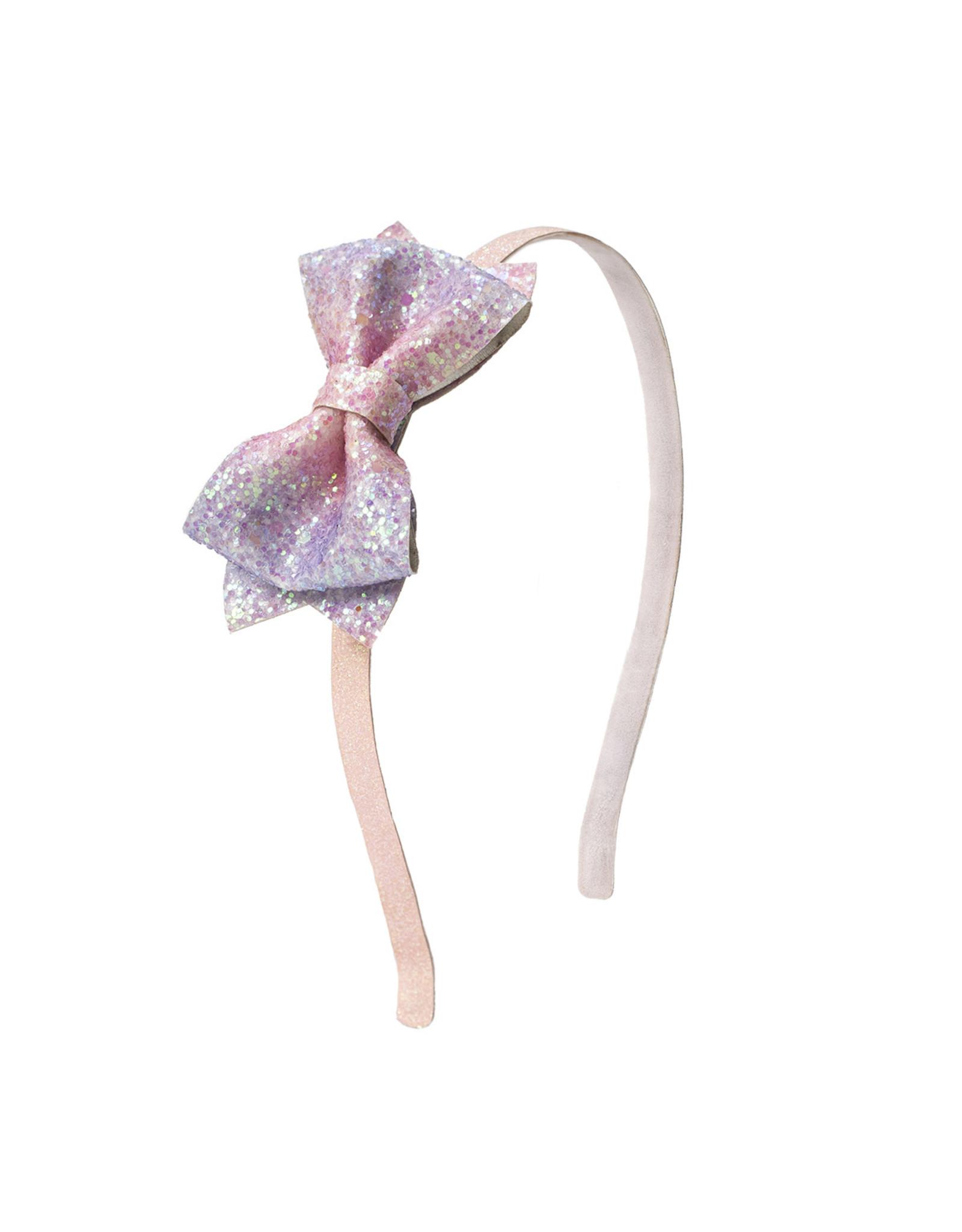 Sweet Wink- Pink Dream Bow Hard Headband