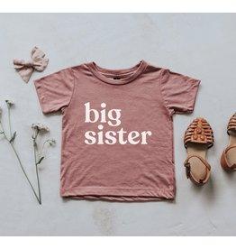 Gladfolk Gladfolk- Big Sister Tee: Mauve