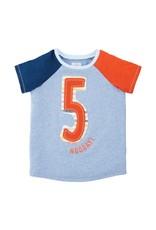 Mudpie Mud Pie- Boy 5 Birthday Shirt 5T