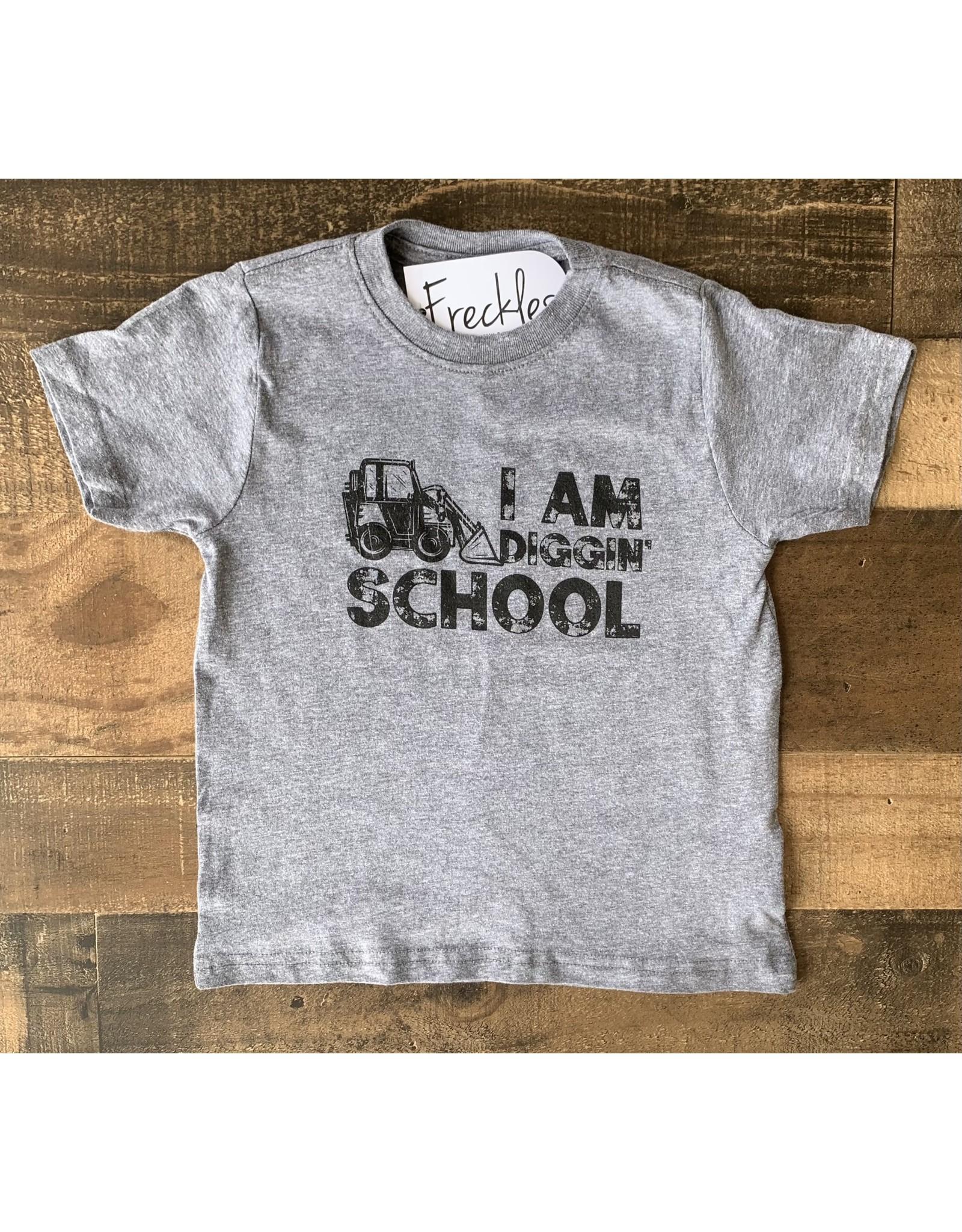 I Am Diggin' School TShirt: Grey
