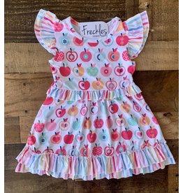 Rainbow Apple Dress