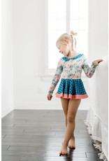 Be Girl Clothing Be Girl- TwInkle Toes Leotard: Twirling Buds